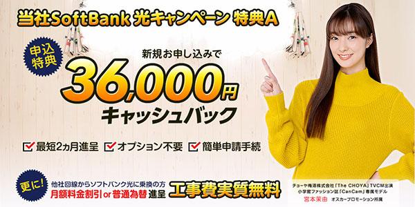 エヌズカンパニー_3.6万円キャッシュバック